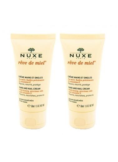 Nuxe NUXE Reve De Miel Crème Mains et Ongles 50 ml - El Kremi ALANA 2. ÜRÜN %50 İNDİRİMLİ Renksiz